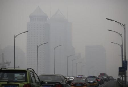 大気汚染による死者、2012年は世界で約700万人=WHO