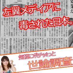 左翼メディアに毒された日本