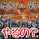 衆参ダブル選挙